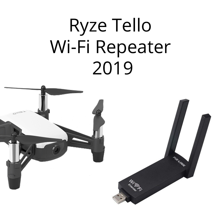 Ryze Tello Best USB Wi-Fi Repeater 2019